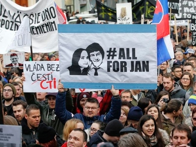 Slovakia's top prosecutor urges joint probe with Italy in journalist murder case