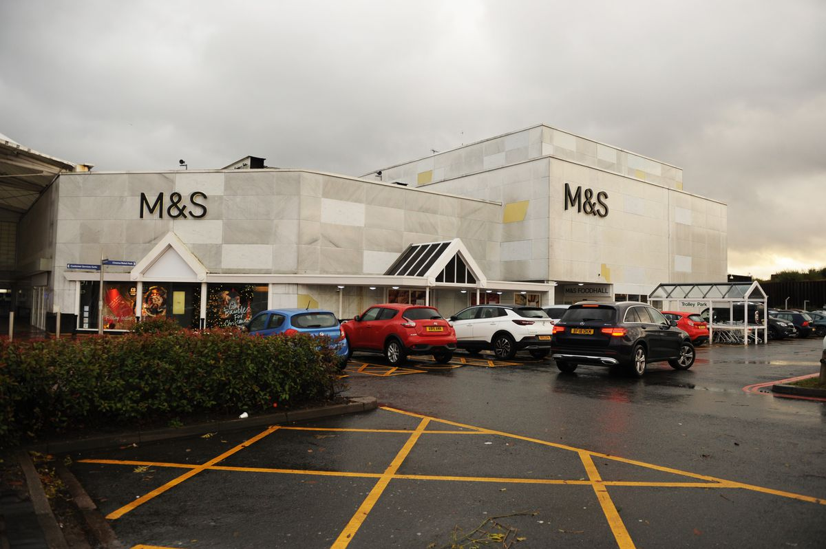 The M&S at Merry Hill is also being upgraded