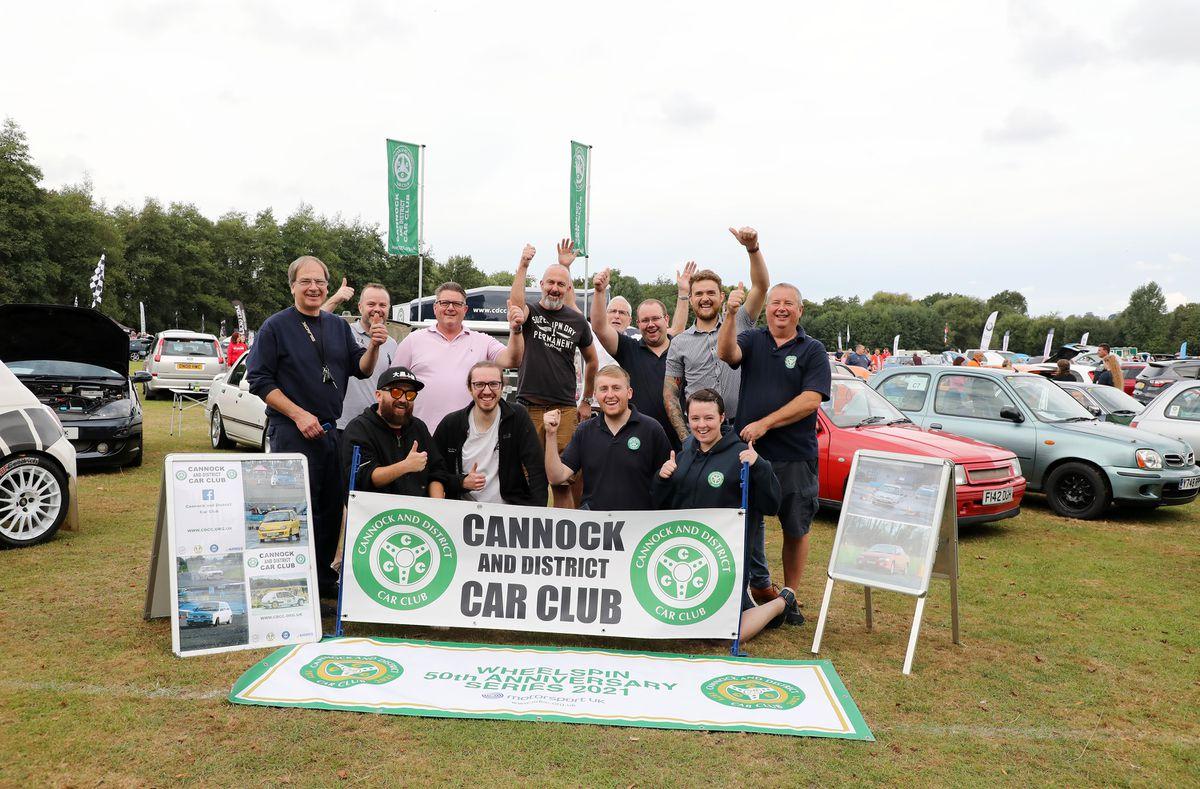 Members of Cannock and District Car Club. Photo: Robert Yardley