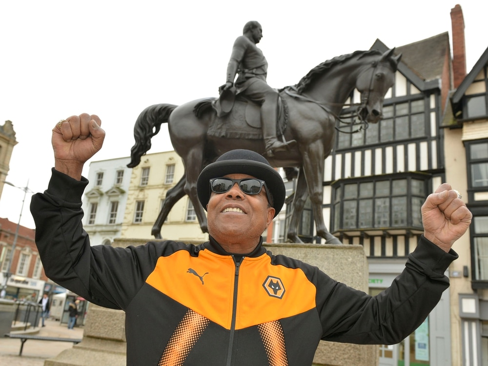 It's Tito time... again! Jackson 5 star returns to Wolverhampton and Molineux - with video and pictures
