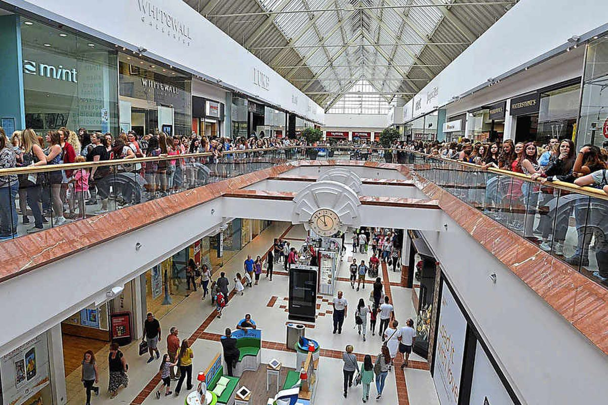 From steelworks to shopping mecca: 25 years of Dudley's Merry Hill