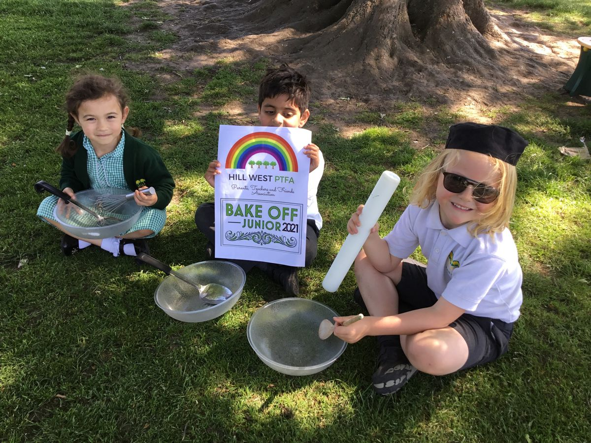 Pupils at Hillwest School took part in a Bake Off