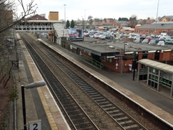 Three men stabbed after violence flares outside railway station