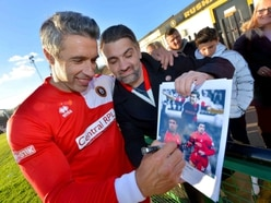 Walsall hero Jorge Leitão lines up with legends for charity match - PICTURES