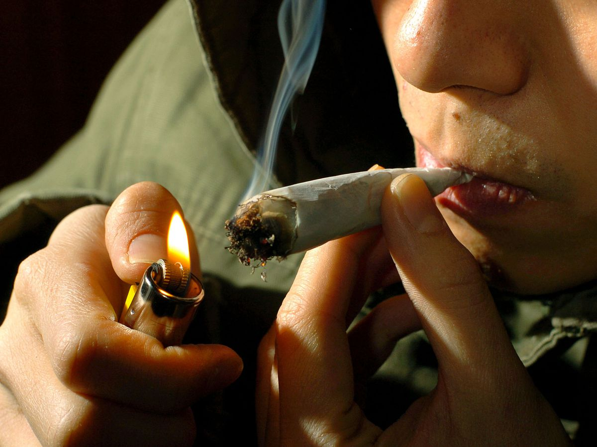 Smoking cannabis has become the norm for many teenagers