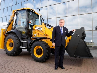 JCB shovels up bigger sales and profits