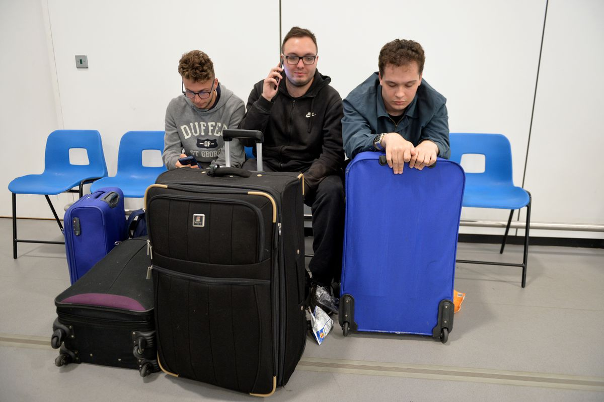 Sam Gadd, Matt Pritchard and Nathan Clarke from Great Wyrley should've been in Bulgaria