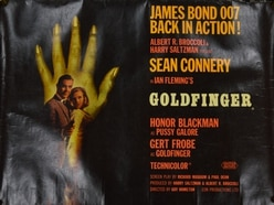 James Bond poster sells for almost £7,000 - one of the highest prices ever at auction
