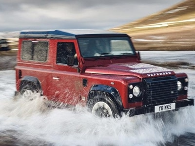 Land Rover launches 400bhp V8 Defender to celebrate 4x4's 70th birthday