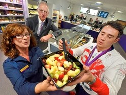 Olympic medallist Kristian Thomas helps launch new Wolverhampton cafe