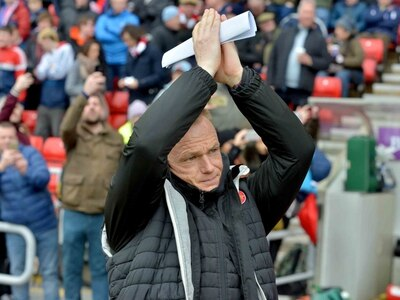 Walsall boss Dean Keates: We believe we can survive