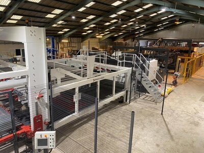Packaging firm's £1.8m machinery investment