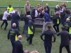 Mass brawl erupts at Haydock Park racecourse