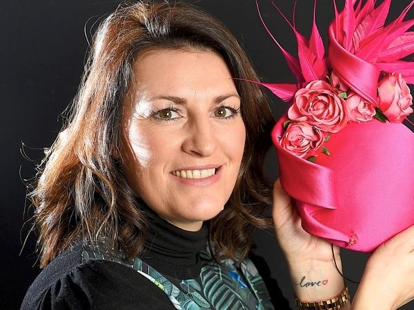 Well, fancy hat! Oldbury's Kerry Jane Aston designs eye-catching headwear for top events