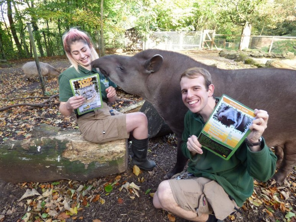 Dudley Zoo launch educational Top Trumps game