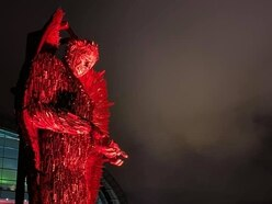 Knife Angel continues tour - to Telford and Wolverhampton