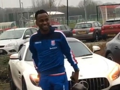 Oops! Ex-Albion striker Saido Berahino turns up for Stoke away at Manchester United a day early
