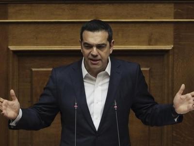 Greece's prime minister survives no-confidence vote