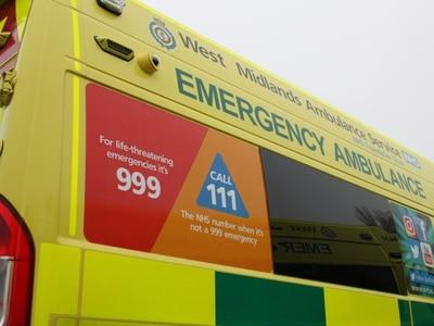 Van driver taken to hospital after M5 crash near Oldbury