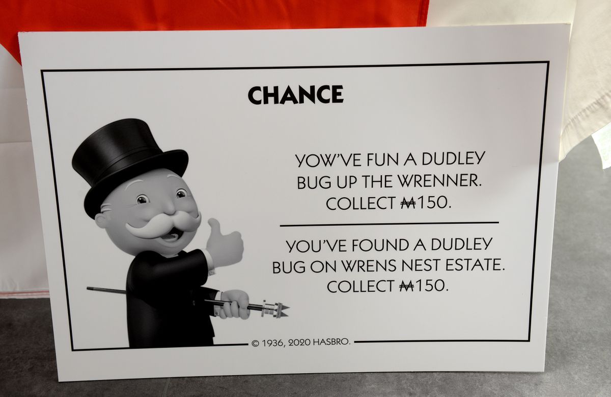 The Chance and Community Chest cards have also been given a Black Country theme
