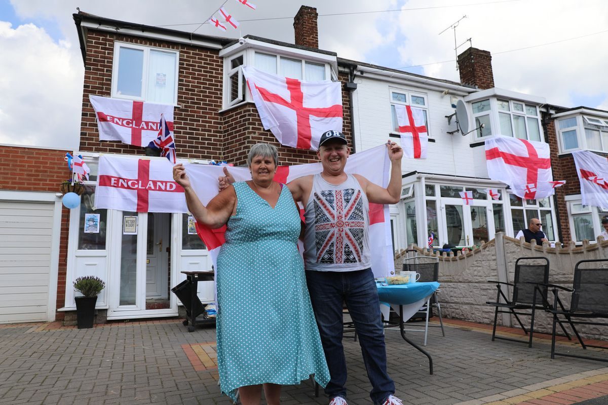 Celebrations in Charlotte Road, Wednesbury. Pic: Kennett Photography