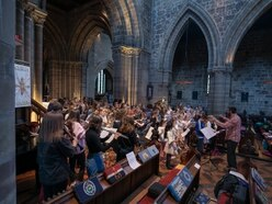 Hundreds watch pupils perform in Stafford Music Festival