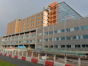 The Midland Metropolitan Hospital in Smethwick