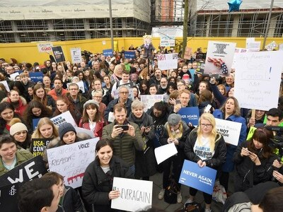 In Pictures: March For Our Lives campaigners protest worldwide over gun control