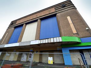 Fencing and warning signs in place at Dudley Hippodrome