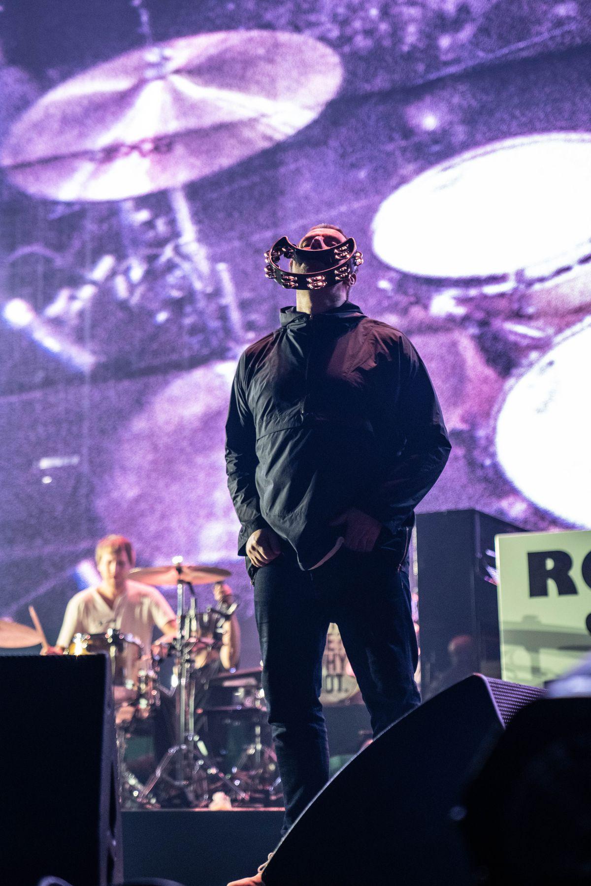 Liam Gallagher brought his tour to Arena Birmingham last night. Picture: Eleanor Sutcliffe