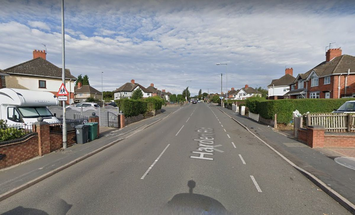 The attack happened at a home in Harden Road, Bloxwich
