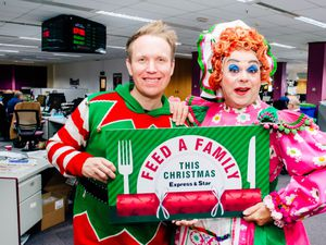 Panto stars pledge support to our Feed a Family campaign