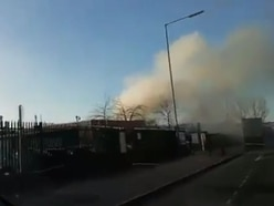 Smoke seen over M5 after West Bromwich fire