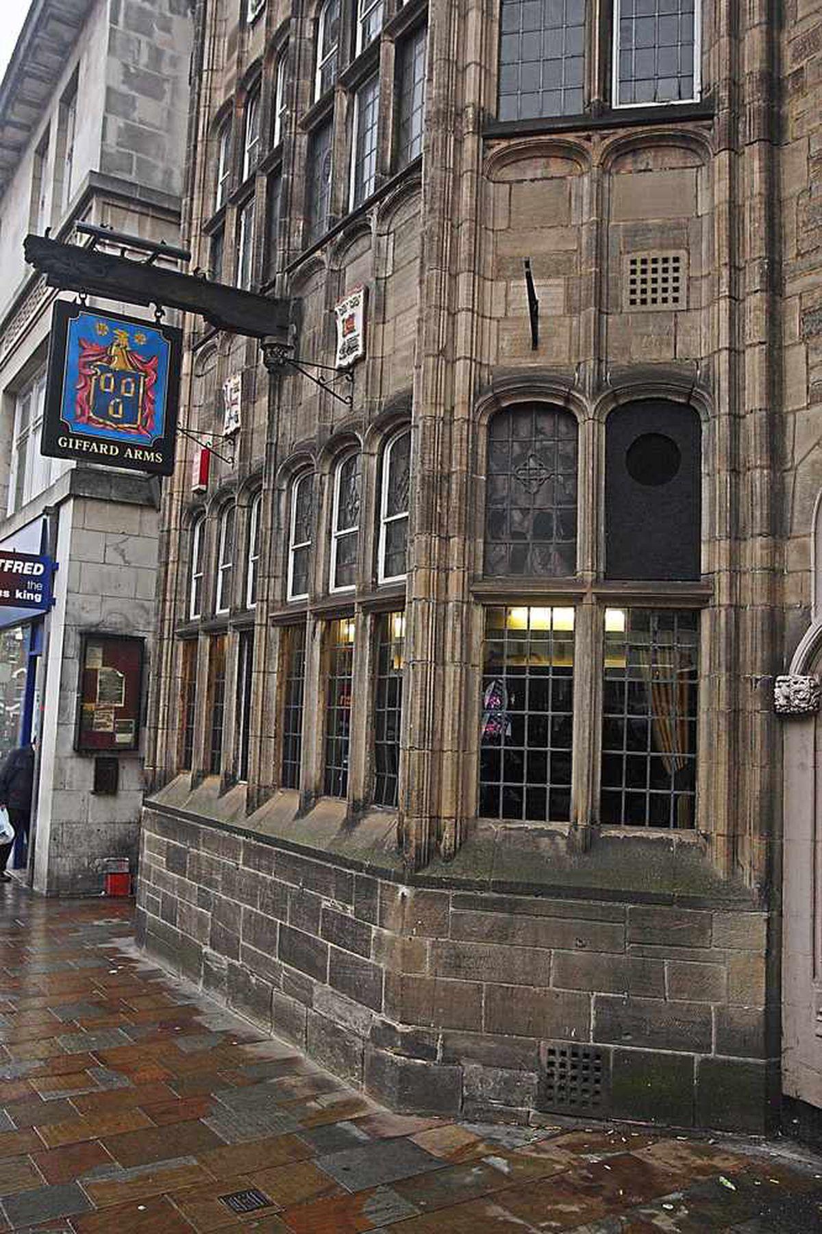Giffard Arms, Victoria Street, Wolverhampton