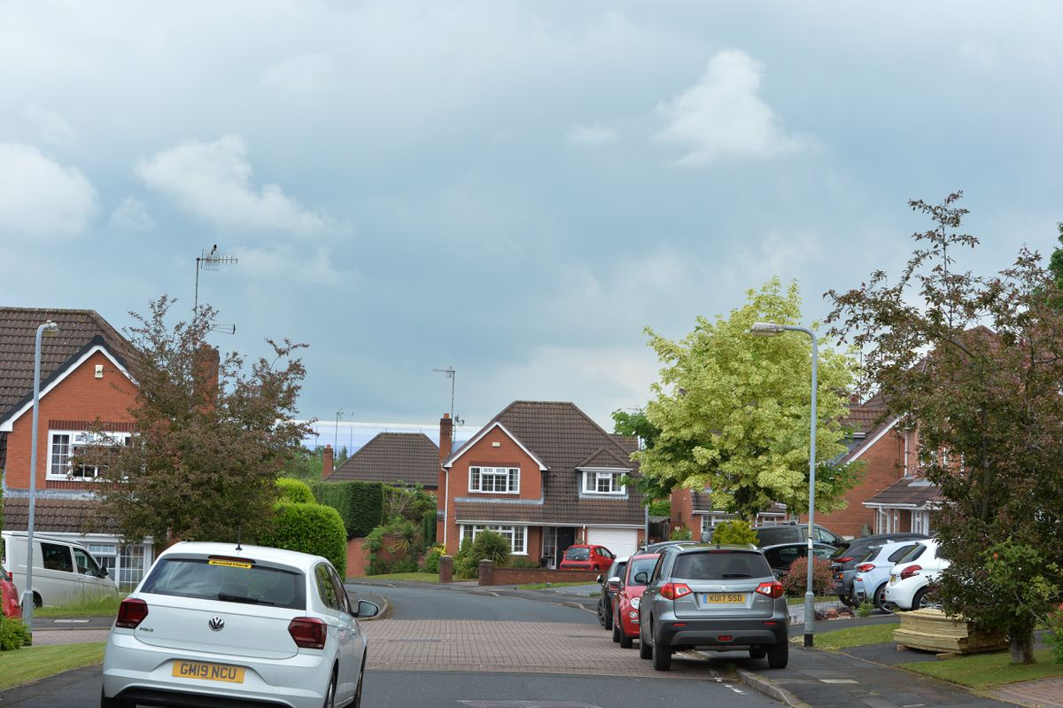 The cooling towers can no longer be seen from Thorn Close after their demolition
