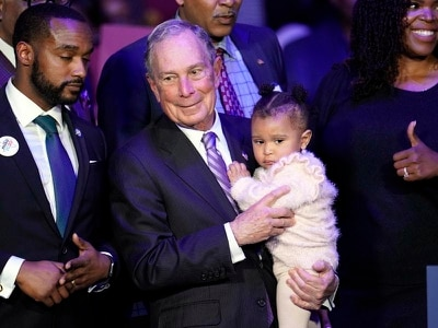 Mike Bloomberg finally steps out at Nevada debate