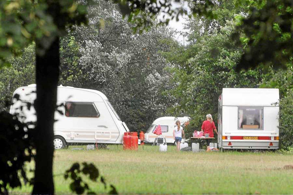 Controversial garden campsite plans rejected