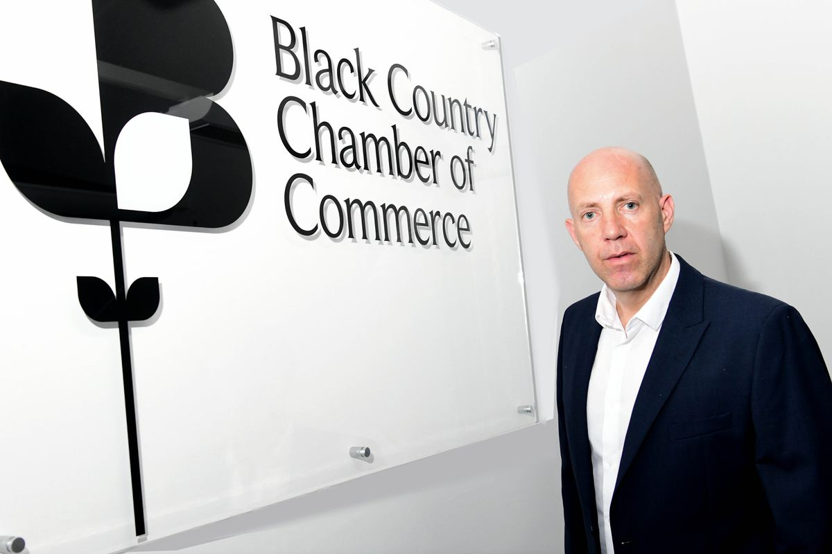 Chamber chief executive Corin Crane