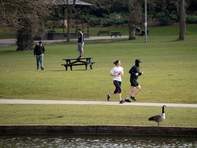 Outdoor exercise could be banned if lockdown rules are flouted, Hancock warns
