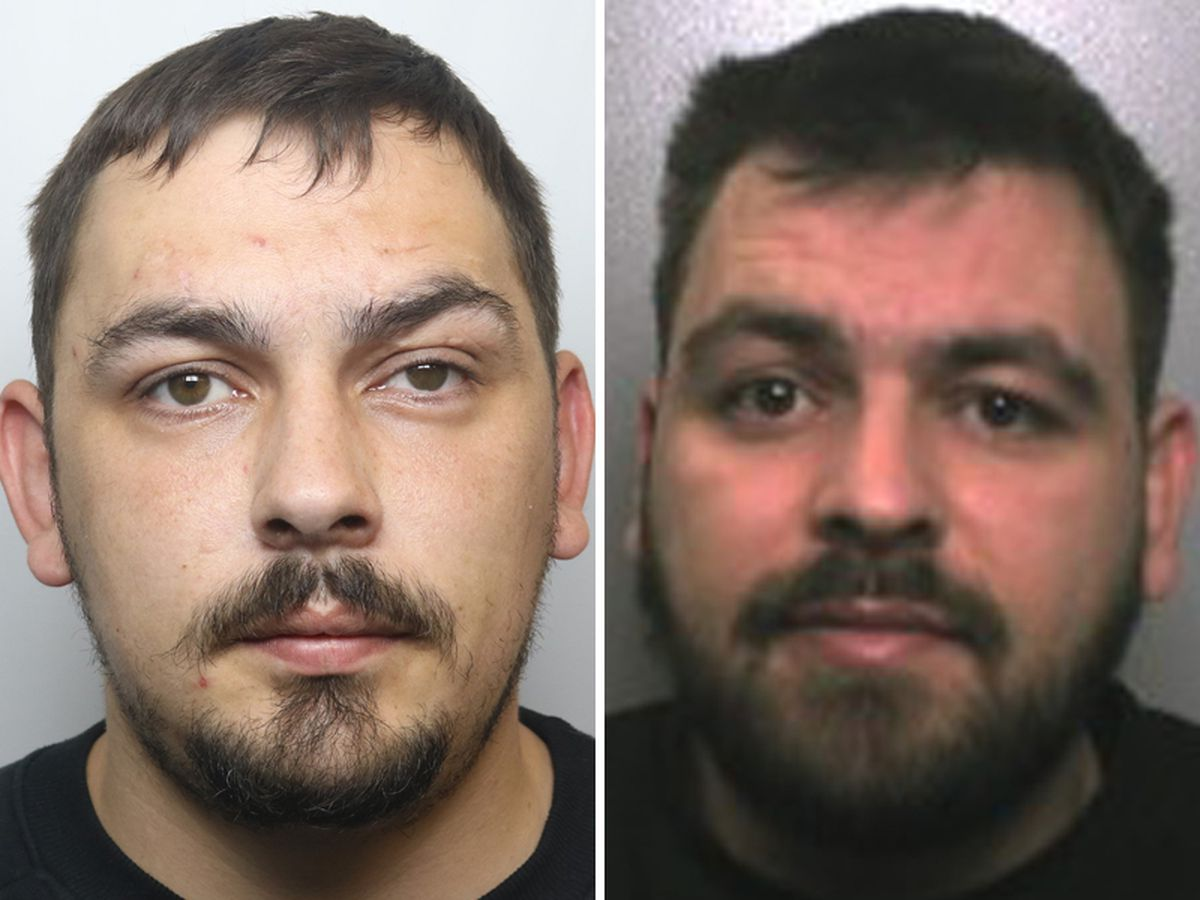 Bernie Smith, left, and his brother Kyle Smith, right, have both been convicted of manslaughter