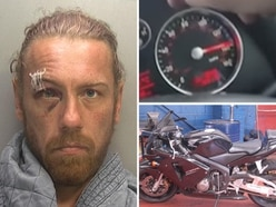 Walsall biker caught hiding in bushes after mowing down pensioner and riding away