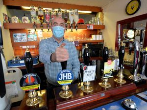 Chindit Inn landlord John Smith has said it is a relief to be able to reopen after a tough year