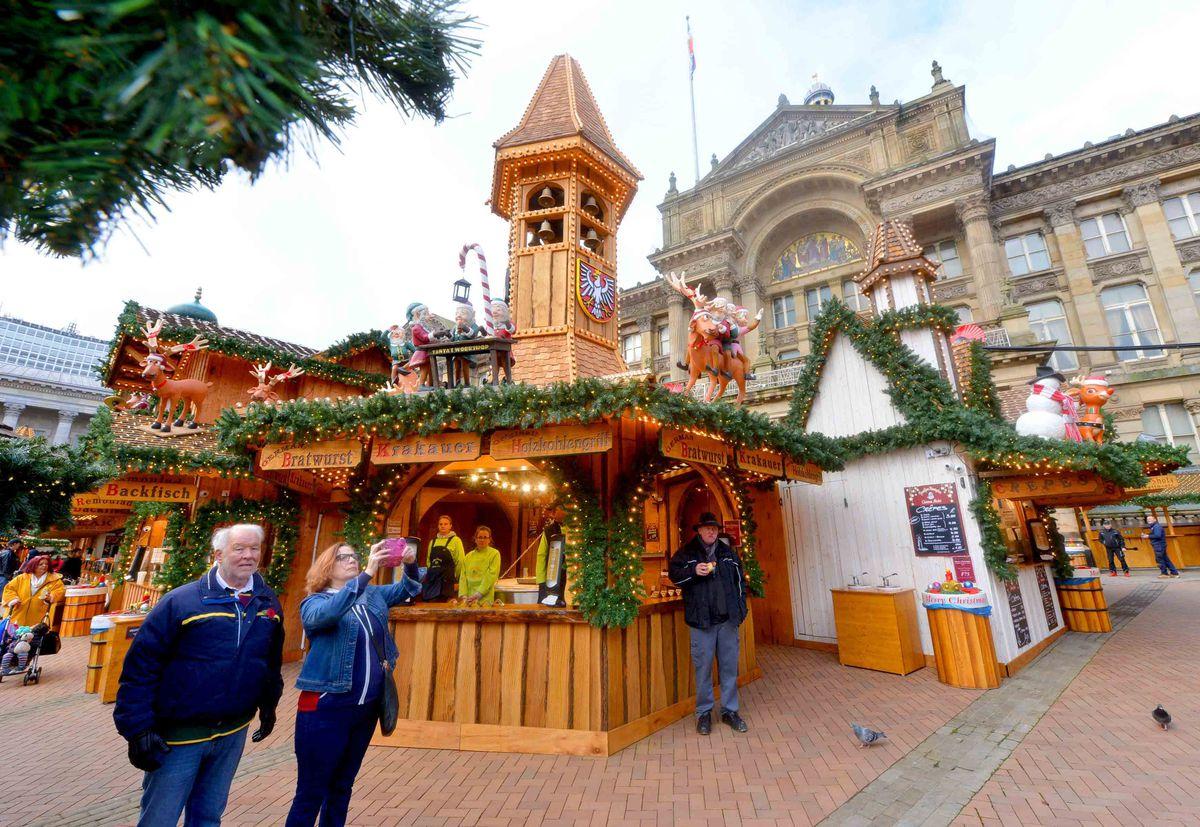 The Frankfurt Christmas Market in Birmingham