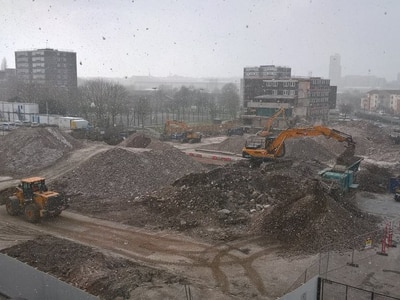 Outdated flats finally demolished in Heath Town estate transformation