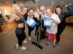 12-hour Spinathon held to raise funds for Acorns Children's Hospice