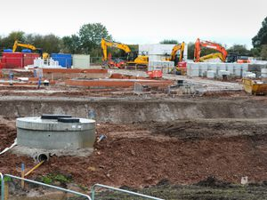 Bloor Homes are being built at Penkridge Grange, off the A449 Stafford Road, Penkridge