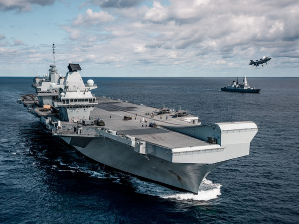The Royal Navy needs Fleet Solid Support ships to supply two new aircraft carriers it is planning to build, like HMS Queen Elizabeth