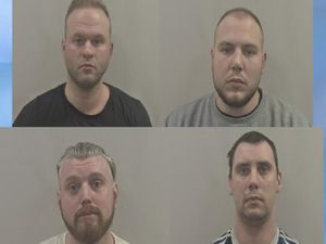 The drugs gang. Clockwise from top left: Ilja Palionnijs, Egons Semjonovs, Igor Gridin and Aleksej Sagamogas. Photo: Humberside Police