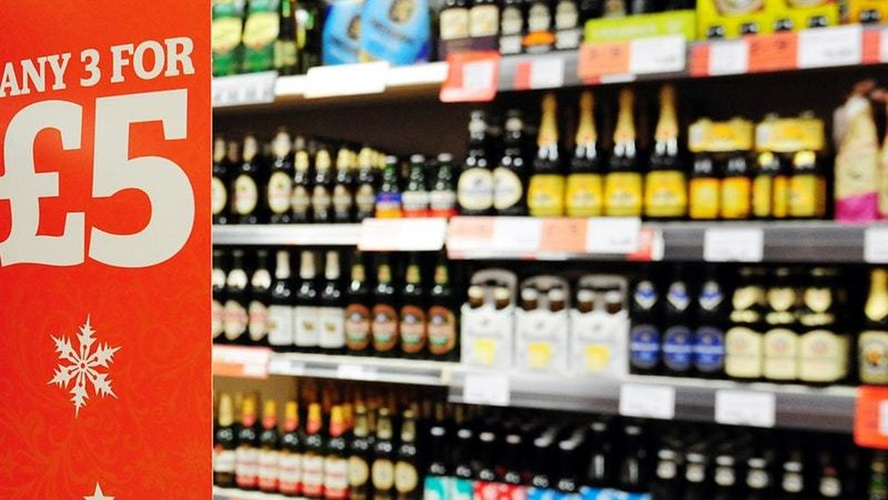 Government to introduce minimum price for alcohol