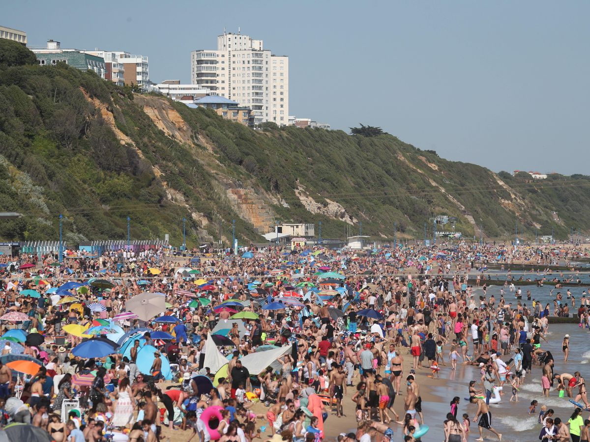 Beach in Bournemouth